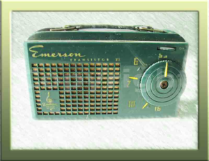 Radio Emerson 856 a valvole - Collezione di Franco Nervegna