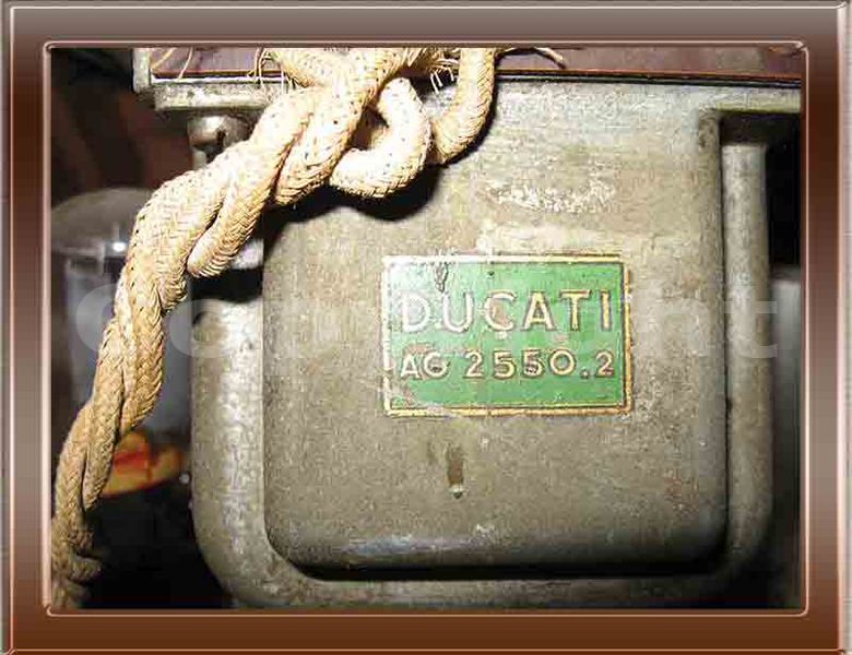 Radio d'epoca Ducati Paniere