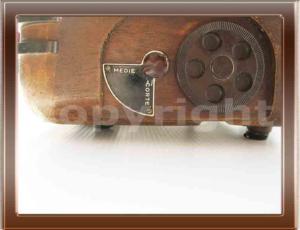 Radio Allocchio bacchini 511 della collezione di Franco Nervegna