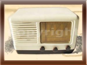 Radio d'epoca Siemens Olap 525 della collezione di Franco Nervegna