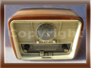 Radio Telefunken Jubilate della collezione di Franco Nervegna