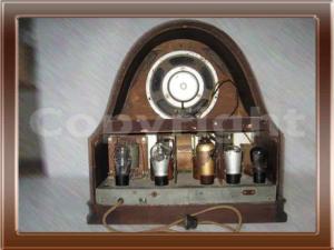 Radio Telefunken Cattedrale Collezione di Franco Nervegna