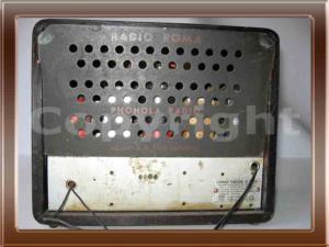 """Radio Phonola modello 301 """"RADIO ROMA"""" della collezione di Franco Nervegna"""