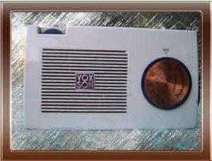 Foto della radio a transistor Voxson 764 Zephyrette