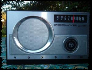 Foto della mia radio Voxson 765 Zephyr 5 - Collezione di Franco Nervegna